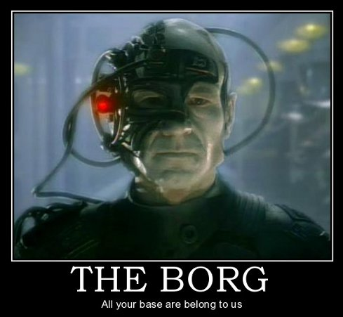 Star Trek Motivational Posters - BORG