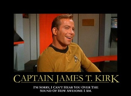 Star Trek Motivational Poster - Kirk