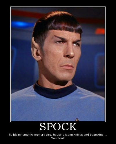 Star Trek Motivational Poster - Spock