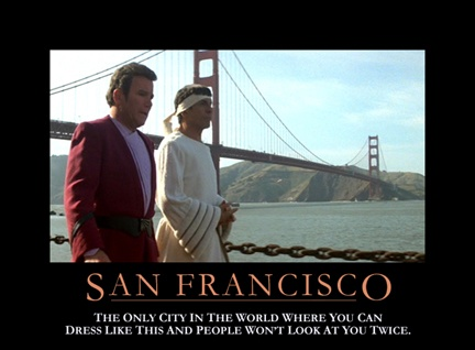 Star Trek Motivational Poster - San Francisco