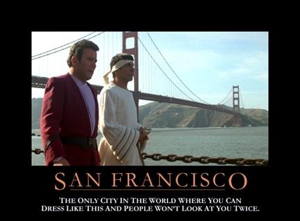 Star Trek Motivational Poster - San Francisco