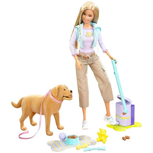 Barbie Dog Pooper Scooper