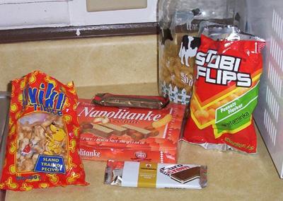 Zagreb Snacks Candy Machine