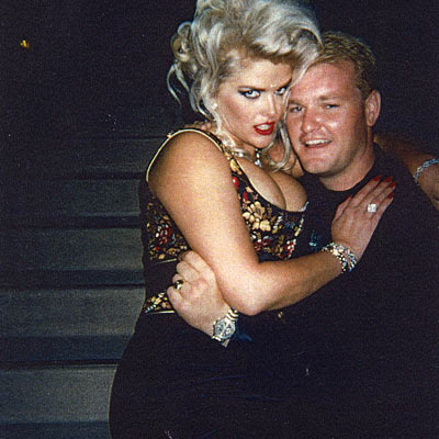 Mark Hollywood Hatten and Anna Nicole Smith