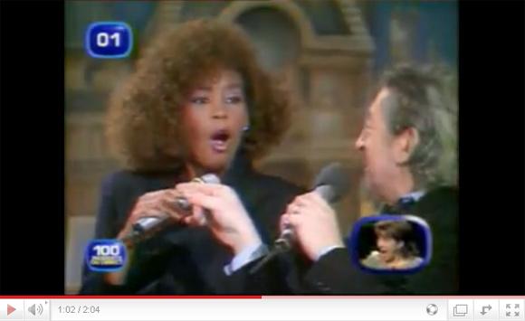 Whitney Houston and Serge Gainsbourg