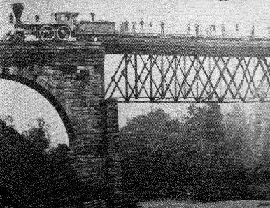 <em>The bridge, before the collapse</em>