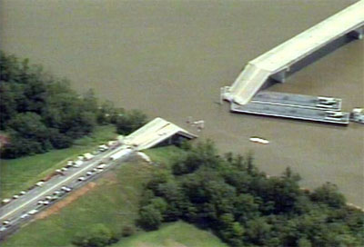 I-40 Bridge Collapse Webbers Falls