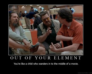 Out of Your Element Motivational