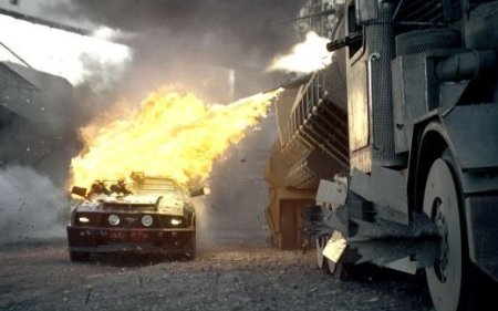 <em>Megaweapon returns in <b>Death Race</b></em>