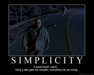 Simplicity Motivational