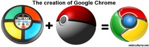 Simon + Pokeball = Google Chrome