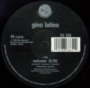 Gino Latino - Welcome (vinyl)