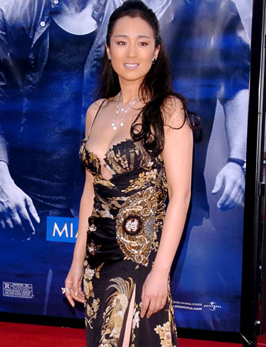 <em>Actress Gong Li - free to hide from China at my place</em>