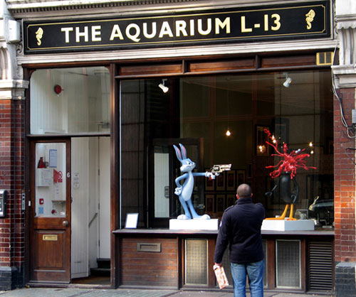 James Cauty - splatter -The Aquarium