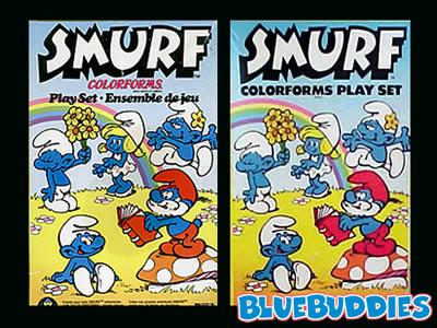 <em>Smurf Colorforms</em>