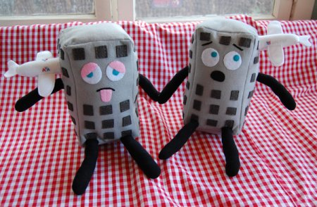 911 Plush Toys - Northy and Southy
