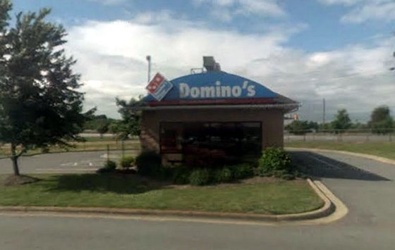 The Dominos Pizza in Conover, NC