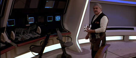 <em>Scotty, put that down and hit the exercise bike.</em>