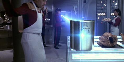 <em>Vulcans don't like chicken.</em>