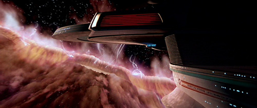 <em>Boldly going into yummy cotton candy</em>