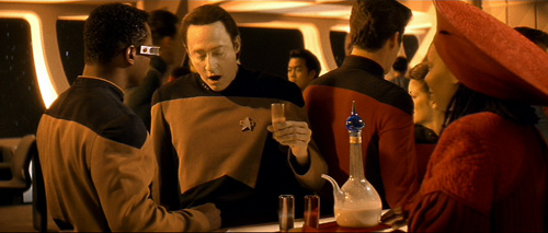 <em>Data drinks Everclear</em>