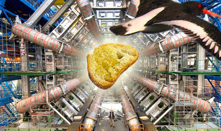 <em>Here... study this bread particle!</em>
