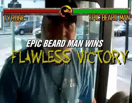 Epic Beard Man Flawless Victory
