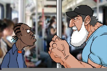 Epic Beard Man Cartoon