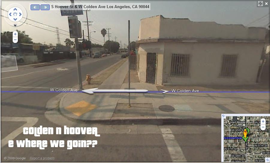 "Google Gangsta Map – Ice-T – ""Midnight"" - Odd Culture"