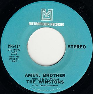 The Winstons - Amen Brother