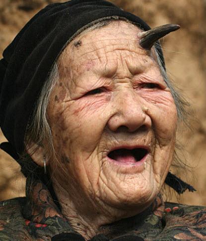 Zhang Ruifang - Woman With Horn