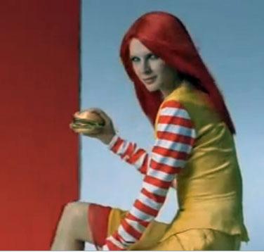 Ronald McDonald's Wife?