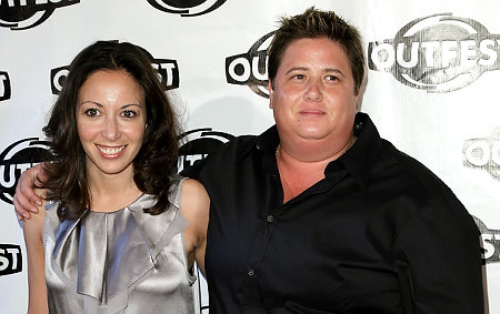 Jennifer Elia and Chaz Bono
