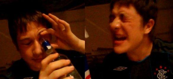Vodka Eye Shot