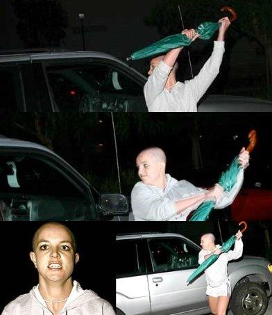 Britney Spears Biography - Britney attacks Paparazzi