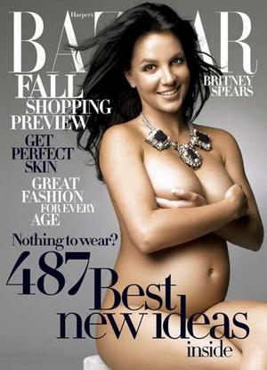 Britney Spears Biography - cover of Harpers Magazine