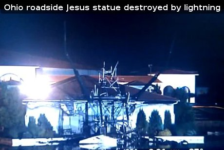 King of Kings Statue Is No More