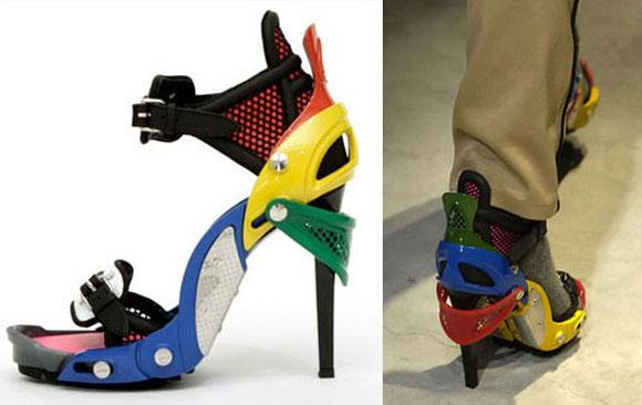 Balenciaga Multicolor Heels