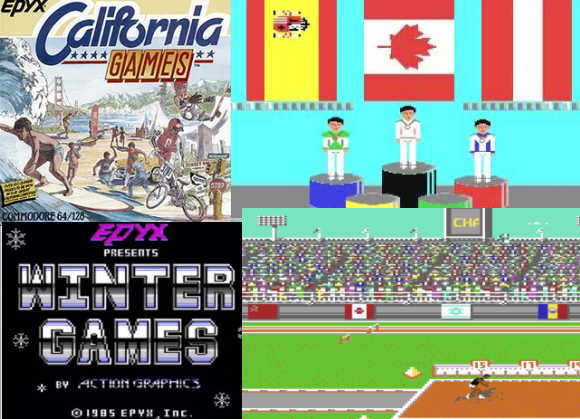 Epyx Games For Commodore 64