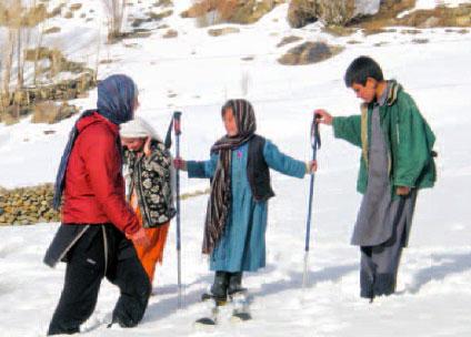Bamiyan Skiing