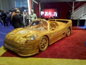 Ferrari Made Of Wood