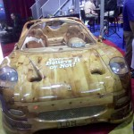 Ferrari Made Of Wood (2)