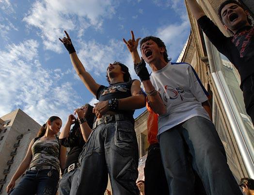 Emo Kids In Armenia