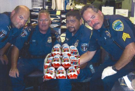 US Customs Seize Kinder Eggs