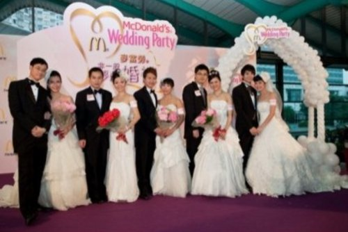 Mcdonalds Hong Kong Wedding 2
