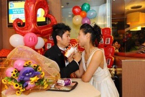 McDonalds Hong Kong Wedding 3