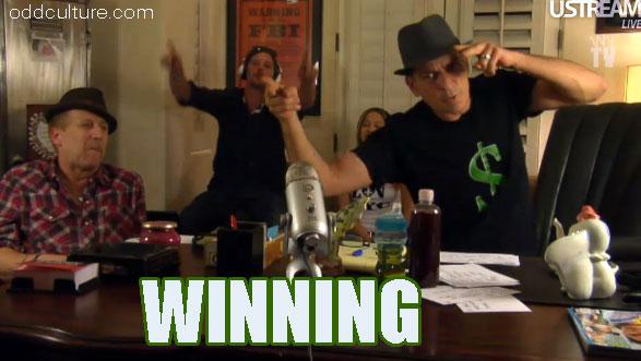 Charlie Sheen is Winning