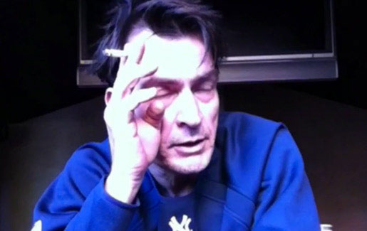 Charlie Sheen Trainwreck