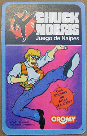 Chuck Norris Card Game