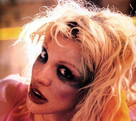 Courtney Love In Makeup